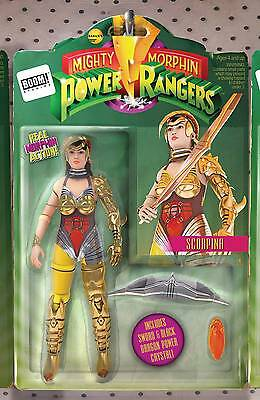 MIghty Morphin Power Rangers #9 Action Figure Variant Boom Comic Book NM wh