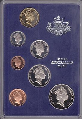 1985 Australia Proof Set, Cat. $65.00 W/Case (S10886)