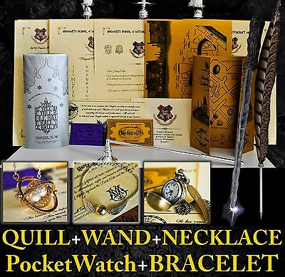 Harry Potter Personalised Gift Set Marauders Map-Wand-Quill, Hogwarts Letter 6a