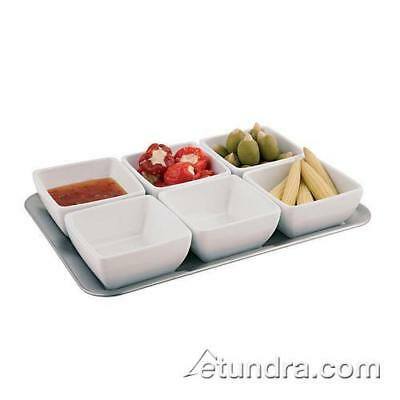 World Cuisine - 44838-07 - 7-Piece Melamine Tray and Bowl Set