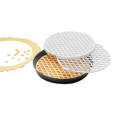 World Cuisine - 47030-30 - 11 7/8 in Round Lattice Cutter