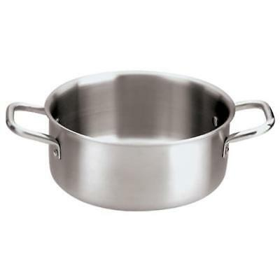 World Cuisine - 12509-20 - 3 qt Stainless Steel Sauce Pot