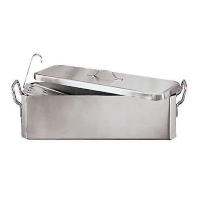 World Cuisine - 41964-45 - 6 1/4 in x 18 1/2 in Stainless Steel Fish Poacher