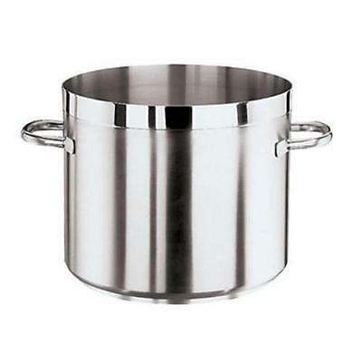 World Cuisine - 11105-24 - Grand Gourmet 9 qt Stainless Steel Low Stock Pot
