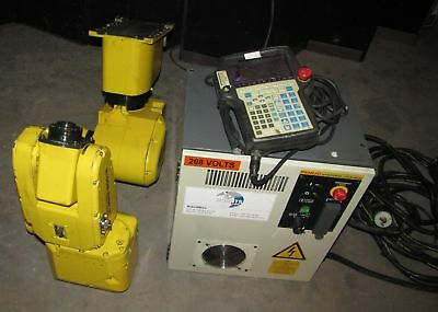 FANUC ROBOT MODEL LR MATE 200iB WITH CONTROLLER R-J3iB MATE  (#2081)