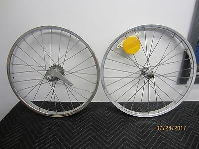 Vintage Schwinn Stingray 20 X 1 3/4 S-7 Single Speed Rim Set