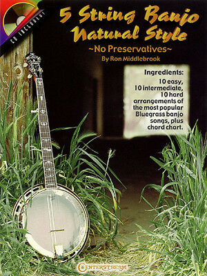 BANJO SONG BOOK 5-String Sheet Music Tab 78 Folk Songs Tony