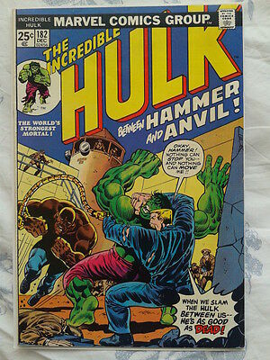 Incredible Hulk 182, (1974) 3rd App of Wolverine, 1st app of Hammer and Anvil