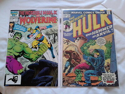 Hulk 180,181 and 182 (1974), 1st, 2nd and 3rd App of Wolverine, affordable set