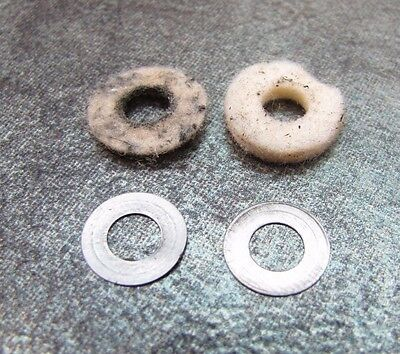Medela Lactina Select Breast Pump REPAIR PART - Gear Washers (metal & felt)