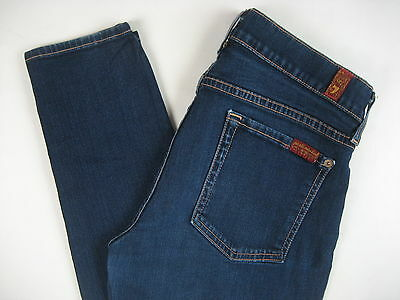 7 Seven For All Mankind Maternity Jeans 'The Skinny' Stretch 29 Small