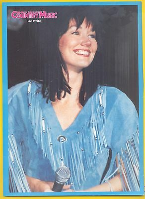 Lari White, Country Music Star in 1996 Magazine Print Photo Clipping