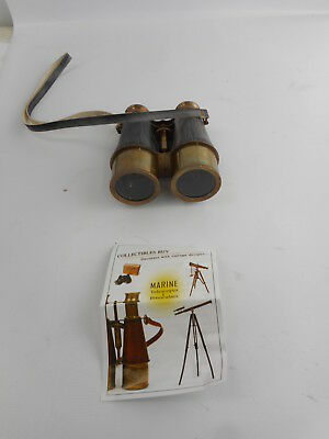 Collectibles Buy ZTS502 - Antique Victorian Leather - Brass Binocular Finish