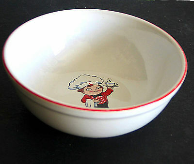 "1991 CAMPBELL KIDS Soup Bowl 5.5"" FREE SH"