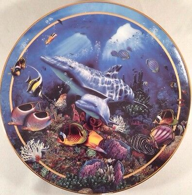 Bradford Exchange Limited Edition Miracle Of Life Collector Plate Ocean Lassen