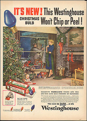 1941 Vintage ad for Westinghouse Christmas Tree Bulbs Toys  Photo  072417