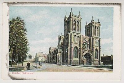 Gloucestershire postcard - Bristol Cathedral
