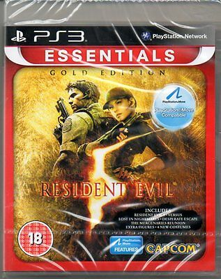 Resident Evil 5 Gold Edition   'New & Sealed'   *PS3*