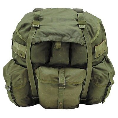 5 Stück US Army ALICE Military Rucksack pack Large OD Green oliv
