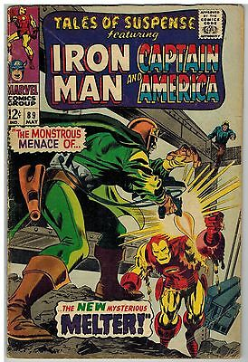 TALES OF SUSPENSE FEAT IRON MAN and CAPTAIN AMERICA #86 1966 MARVEL COMICS GROUP