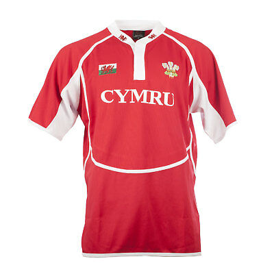 Heritage of Scotland Men's New Cooldry Rugby Wales T-Shirt