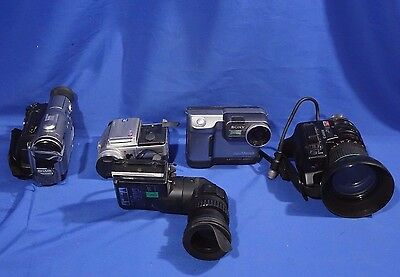 LOT of Various Video Camcorders #L2029BP
