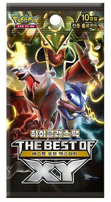 "Pokemon cards XY ""High Class Pack The Best of XY"" Booster Box / Korean Ver"