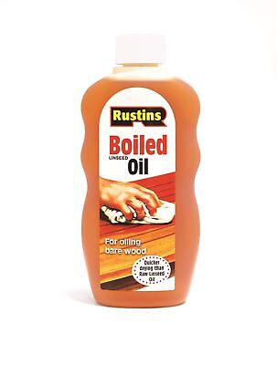 Rustins Boiled Linseed Oil for Finishing all Types of Guitar Body Woods