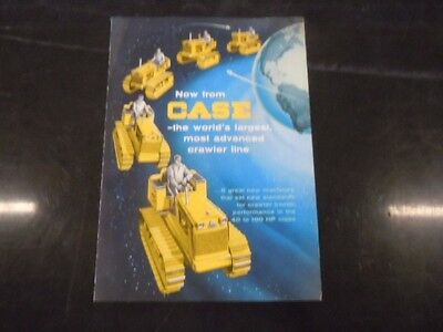 J.I. Case 420 520 600 800 1000 Crawler Sales Brochure Book Catalog CF5003-5012