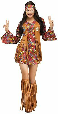 Fringe Boot Covers Hippie Indian Native American Adult Costume Accessory Shoes