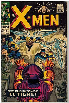 X-Men #25 1966 Marvel Silver Age!