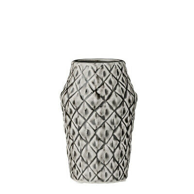 Square Vase Cool Grey klein Bloomingville