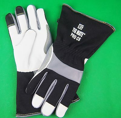 Lge TIG Gloves TIGMATE PRO-C5 Tig Gloves Top Goat Skin TIG gloves Free Post AU