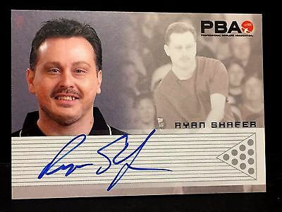 RYAN SHAFER 2008 Rittenhouse PBA Bowling AUTOGRAPH On Card Pack Pulled AUTO