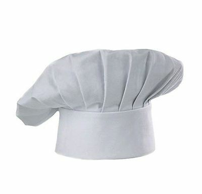 CHOICE  White Chef/Baker Hat Cotton Blend Adjustable Velcro® Closure
