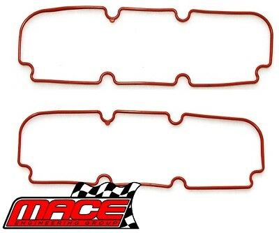 Pair Of Mace Rocker Cover Gaskets Holden Calais Vt Vx Vy Ecotec L36 3.8L V6