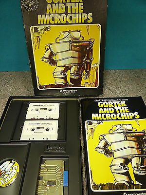 Commodore 64 Gortek and The Microchips COMPLETE RARE