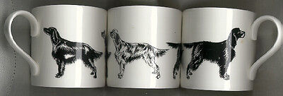 Irish English Gordon Setter Mug Black and White