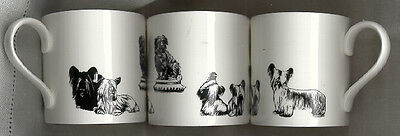 One Skye Terrier Mug Black and White Greyfriar's Bobby