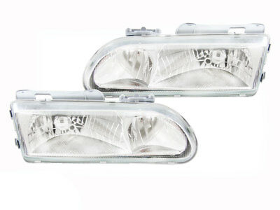 Headlights Holden VR VS Commodore Crystal Altezza Pair Clear 93-00 HSV ADR