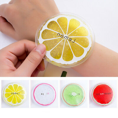 Summer Travel Portable Cooling Ice Bag Lovely Sweet Fruit Series Cold Packs Hot