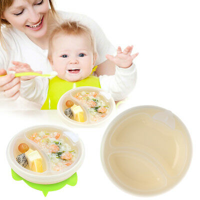 Baby Suction Warming Plate Cup Dish Food Bowl Baby Hot Water Chamber Feeding