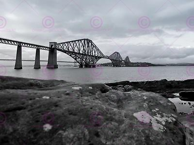 VINTAGE TRAVEL SCOTLAND HOLIDAYS FORTH BRIDGE ART POSTER PRINT LV5025