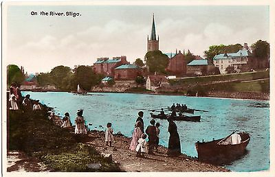 zx irish postcard ireland sligo