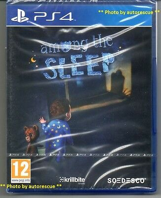Among the Sleep   'New & Sealed'  *PS4(Four)*