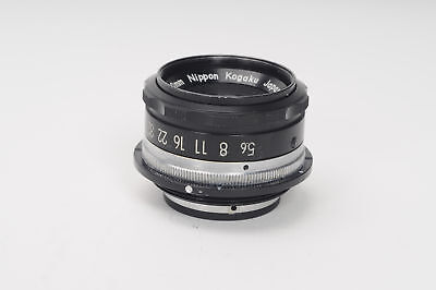 Nikon 80mm f5.6 EL Nikkor Enlarging Lens 80/5.6 Enlarger                    #117