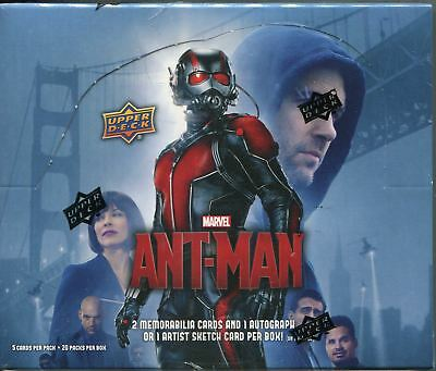 Antman The Movie Factory Sealed Hobby Box