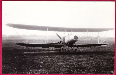1913 Royal Aircraft Factory F.E.3 Biplane Photo by Real Photograph Co. Ltd