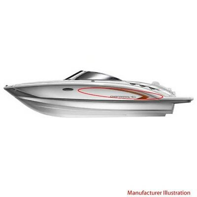 Chaparral Boat Hull Decal 14.00265 | 2009 / 2010 Sunesta Copper (Set of 2)