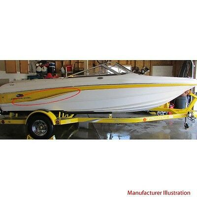 Chaparral Boat Graphic Decals | 2004-2005 SSI Yellow / Gold (Set Of 2)